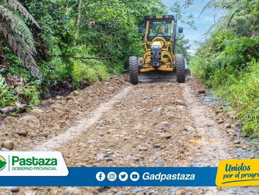 ¡Iniciaron los trabajos de relastre hacia la comunidad Rayu Urco!