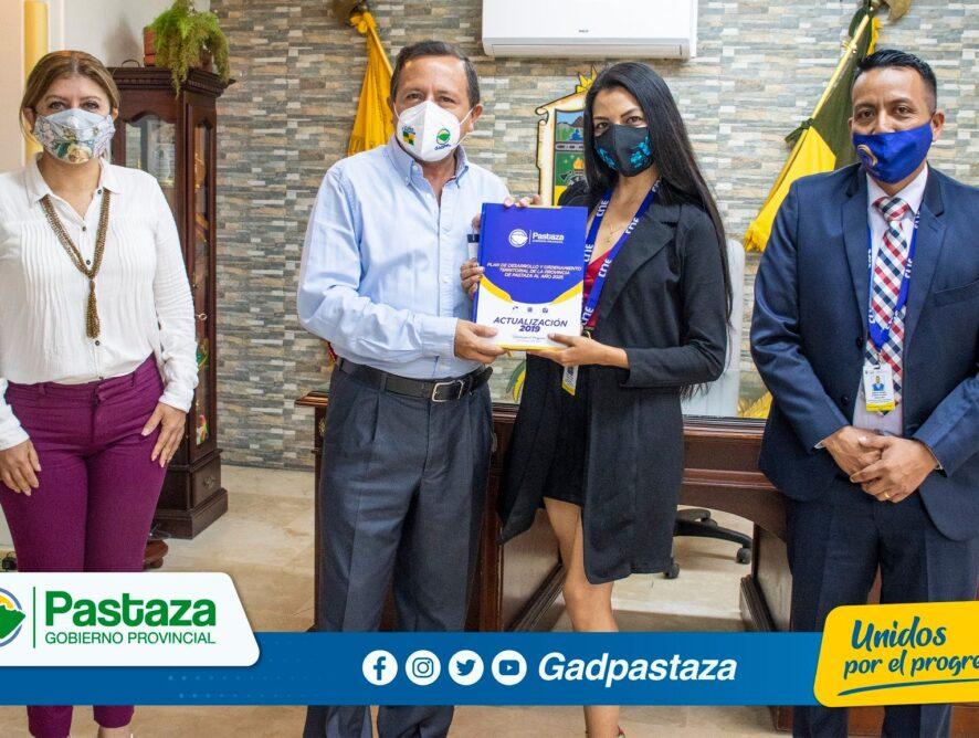 CNE Pastaza solicita desinfección de recintos al Prefecto