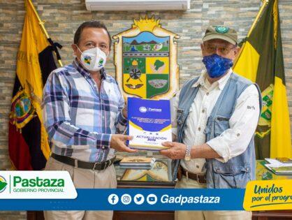 Pachamama e Ikiam socializan proyecto agroproductivo con asistencia técnica de la Prefectura de Pastaza
