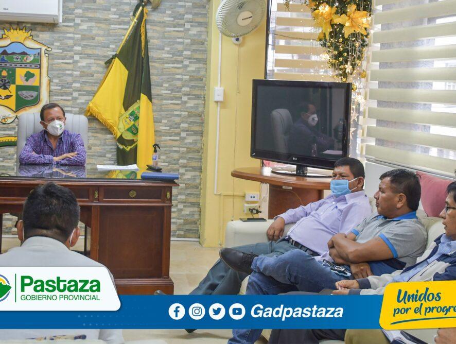 """Prefecto explicó a Presidentes de los GADs Parroquiales sobre la operatividad de la empresa pública """"Pastaza Progresa""""."""