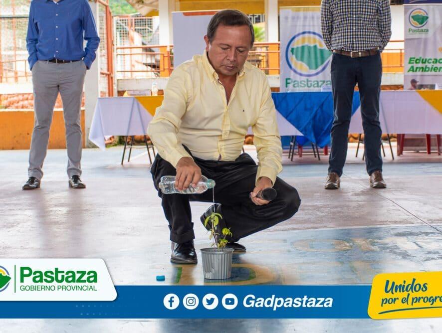 Prefectura de Pastaza realizó taller participativo de levantamiento de información ambiental.