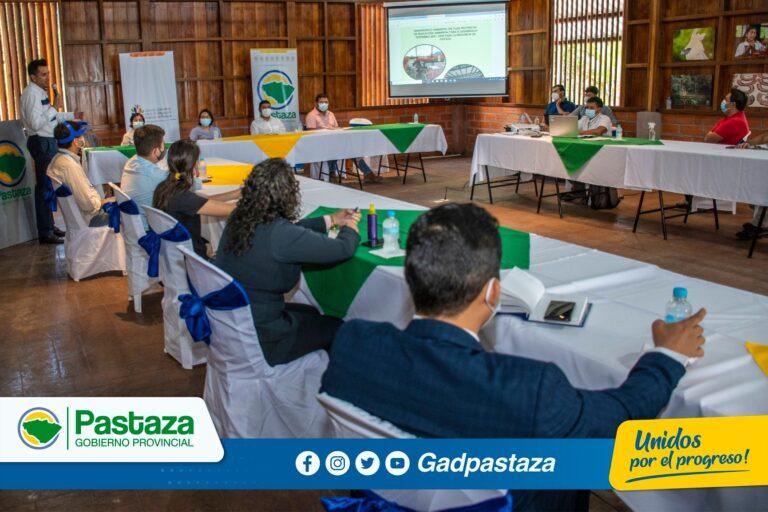 ¡CCLEAPz presentó borrador del Diagnóstico Ambiental de Pastaza!