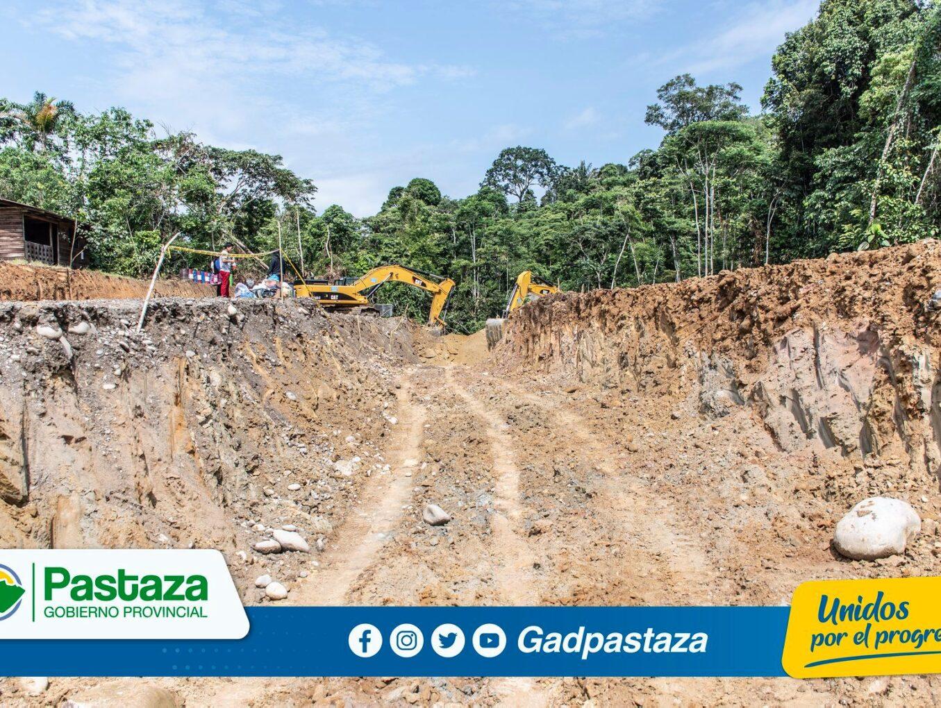 Construcción  del puente sobre el río Oglán se inició con movimiento de tierras