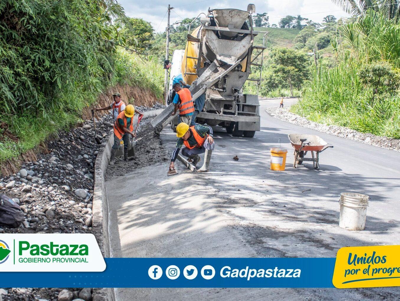 ¡Asfaltado de la vía  San Ramón-Km 31 vía al Tena no se detiene!