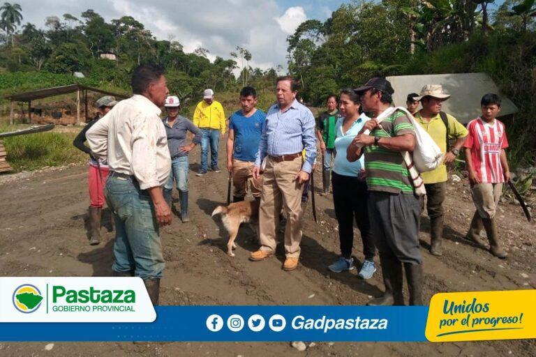 Realizamos el mantenimiento vial en la comunidad San José 2
