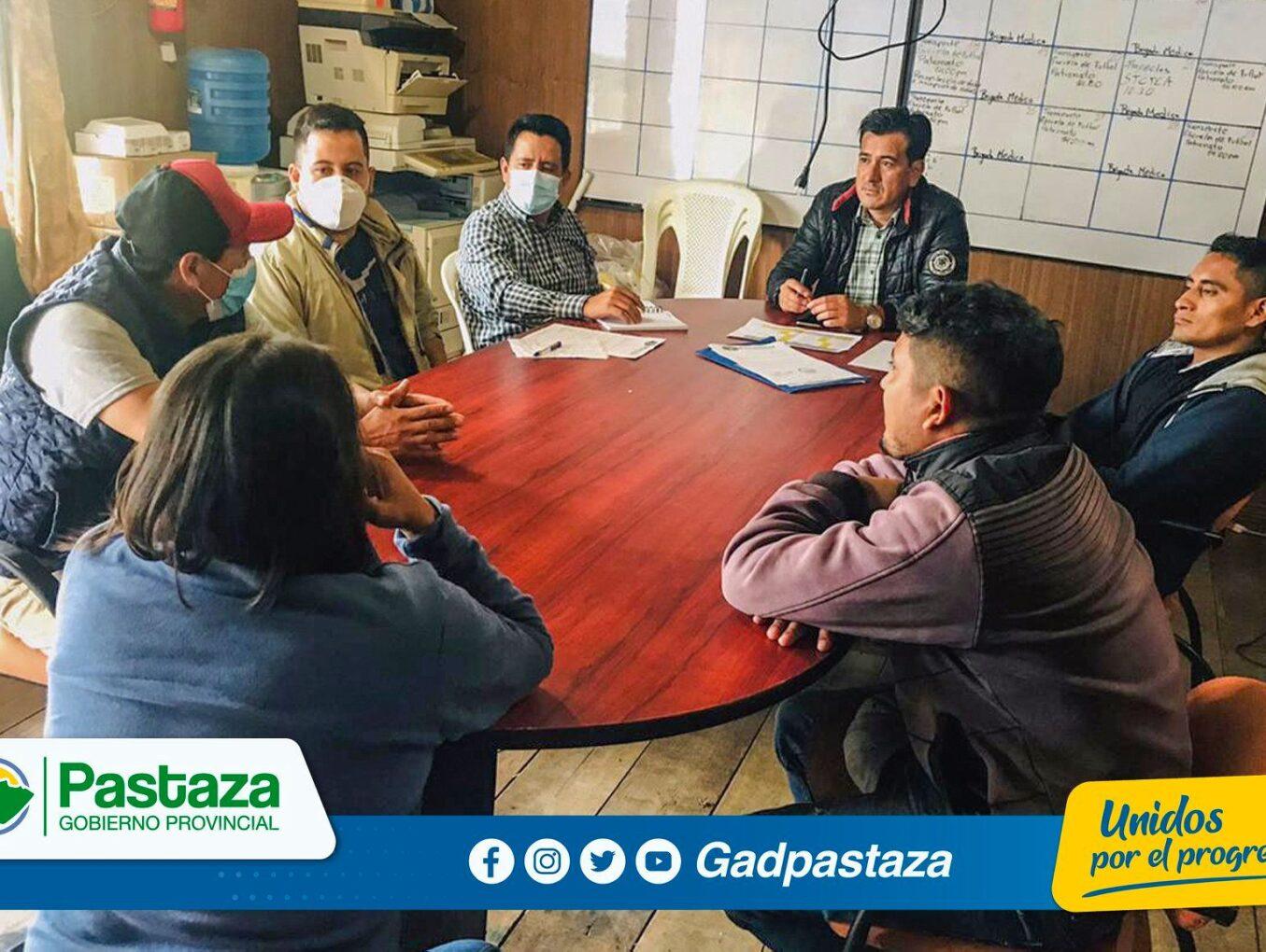 Prefectura de Pastaza , MAG y GAD Parroquial de Pomona retoman coordinación en proyectos productivos.