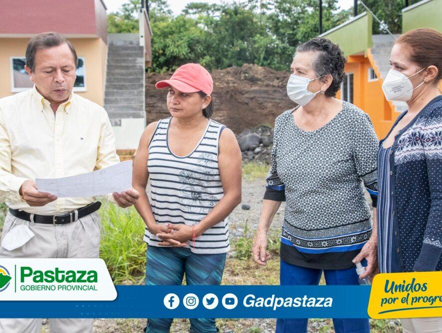 Prefecto asistió a una reunión con los moradores de la Urbanización Municipal la Merced