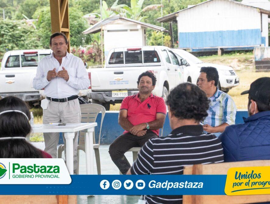 ¡Prefecto visitó la comunidad El Talín y comprometió atender sus pedidos!