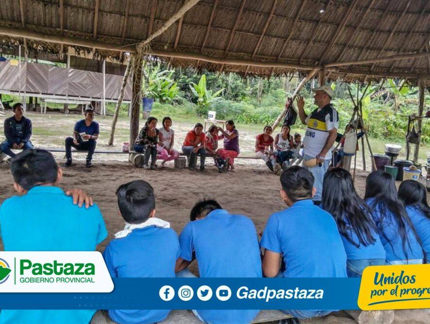 8 comunidades de la parroquia Río Tigre se capacitan manejo de plagas de yuca
