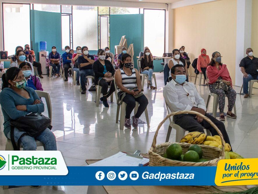 ¡Ecotienda Huella Pastaza prepara su pronta inauguración con el apoyo del GADPPz!