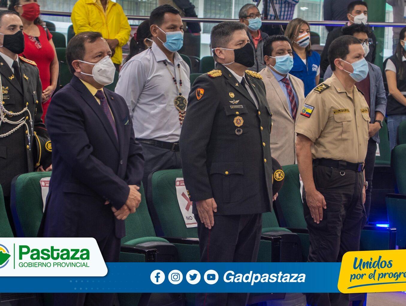 Prefecto fue invitado al acto inaugural de Elecciones 2021