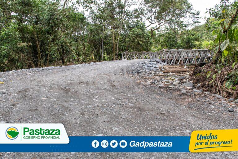 ¡Trabajos de construcción del nuevo puente sobre el río Indillama avanza sin contratiempos!