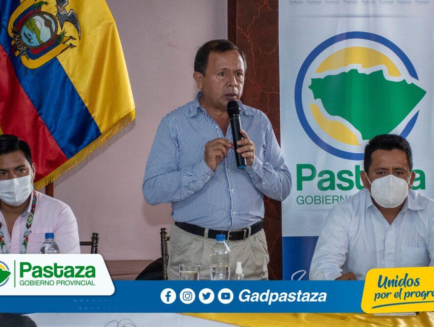 ¡Prefecto participó de la primera reunión de la Mesa de Turismo de Pastaza!