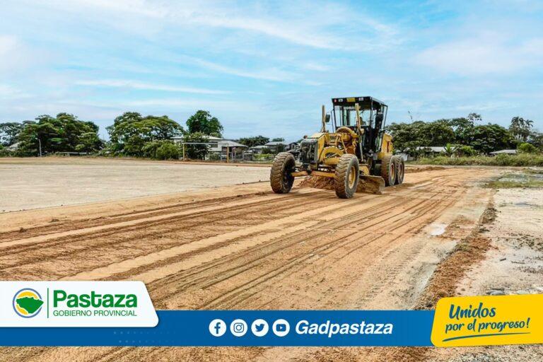¡Realizamos trabajos de mantenimiento de la cancha de la parroquia Fátima!