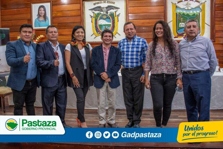 El CONGA se reunió en la ciudad del Tena con la presencia de los Prefectos amazónicos