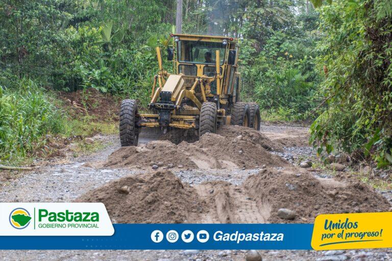 ¡Trabajamos en el mantenimiento  de la vía Llandia-Boayacu!