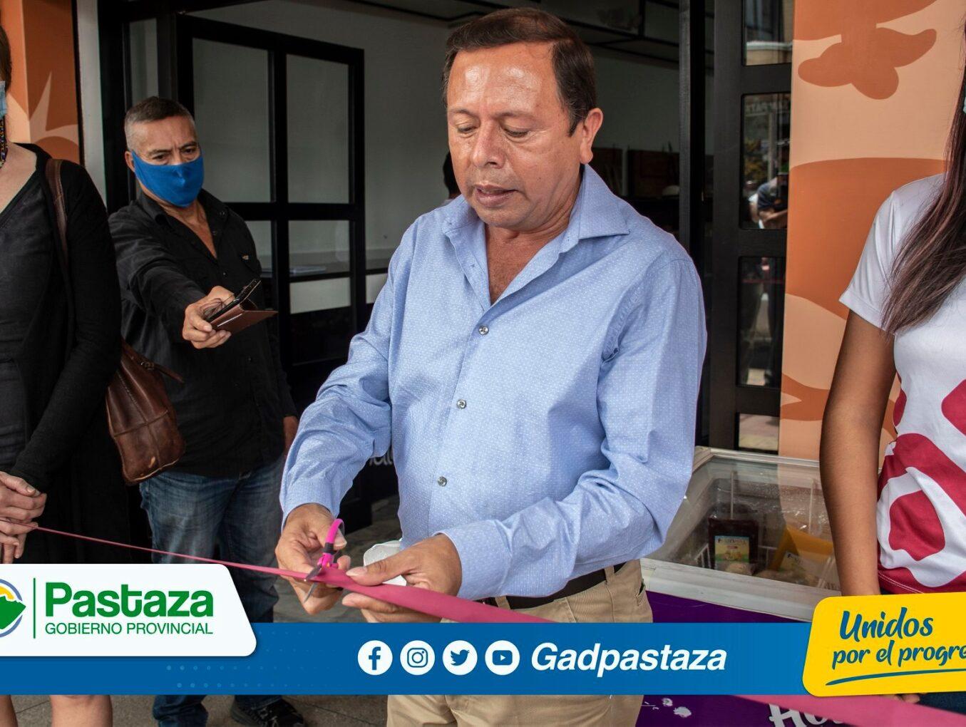 ¡EcoTienda fue inaugurada en los bajos del edificio operativo del GADPPz!