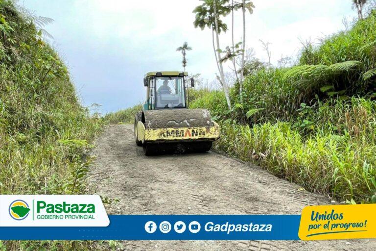 ¡Trabajos de mantenimiento  se realizó en la vía a Selva Alegre!