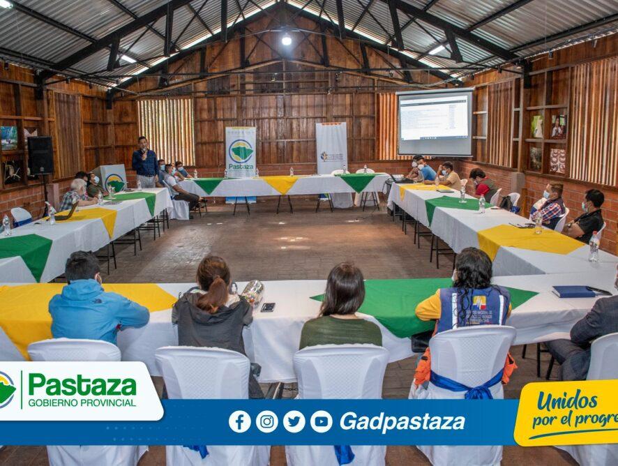 CCLEAPz realiza revisión del primer borrador del Diagnóstico Ambiental de Pastaza