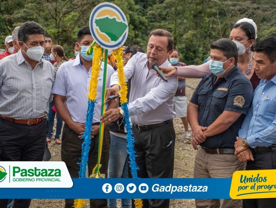 ¡Se dio inicio a la construcción del puente sobre el río Pindo Grande en Sacha Runa!