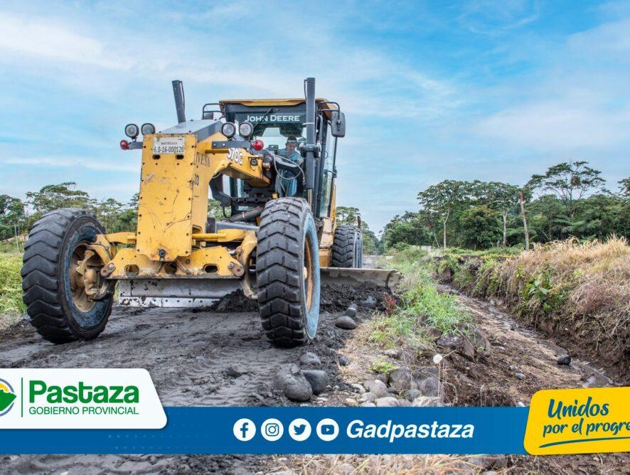 ¡Realizamos trabajos de mantenimiento en la vía de ingreso al sector Intimuya!