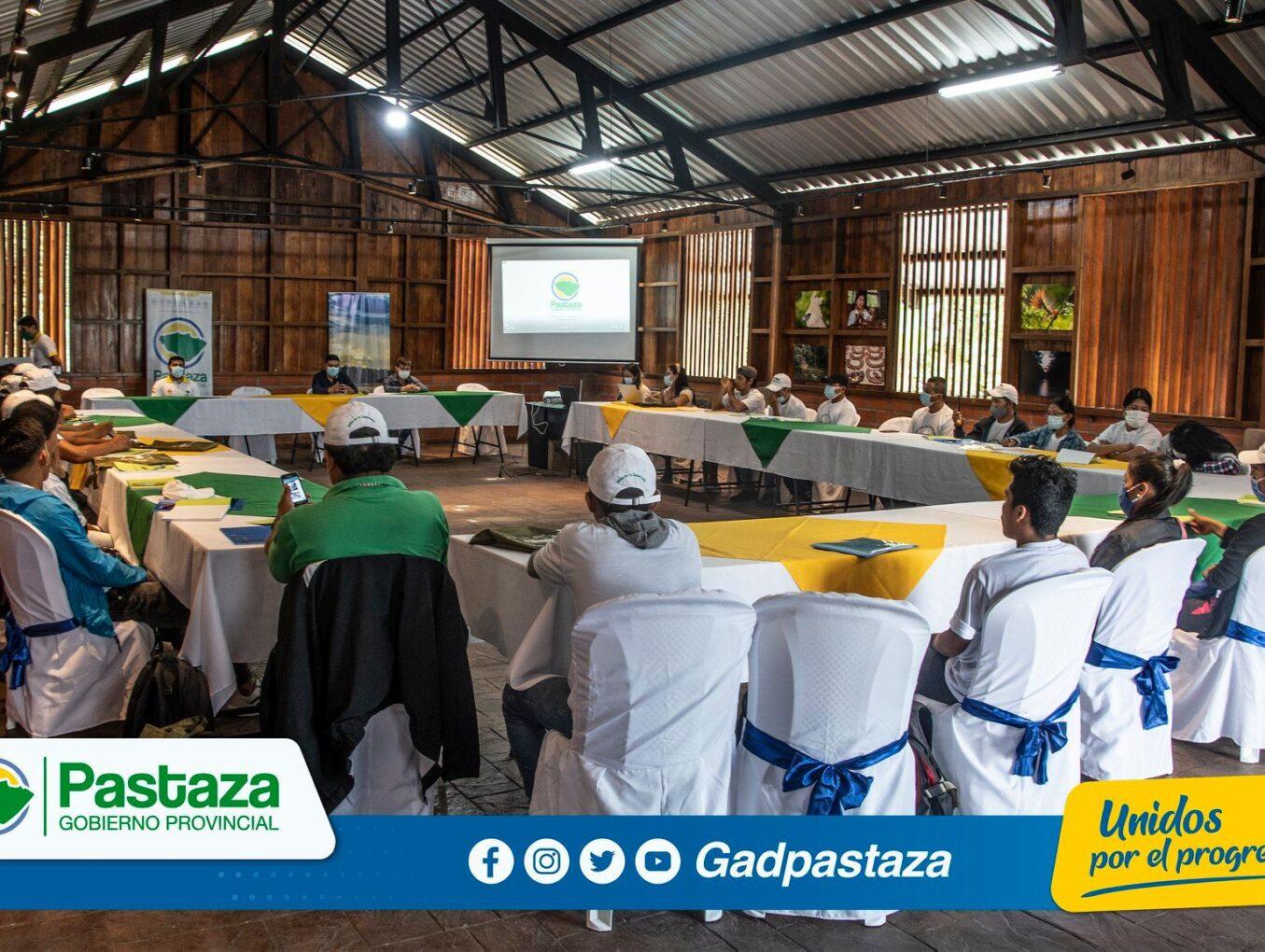 """Inició el programa Formación de Líderes Ambientales para la Conservación y Gobernanza Territorial en la provincia de Pastaza"""" en Pindo Mirador"""