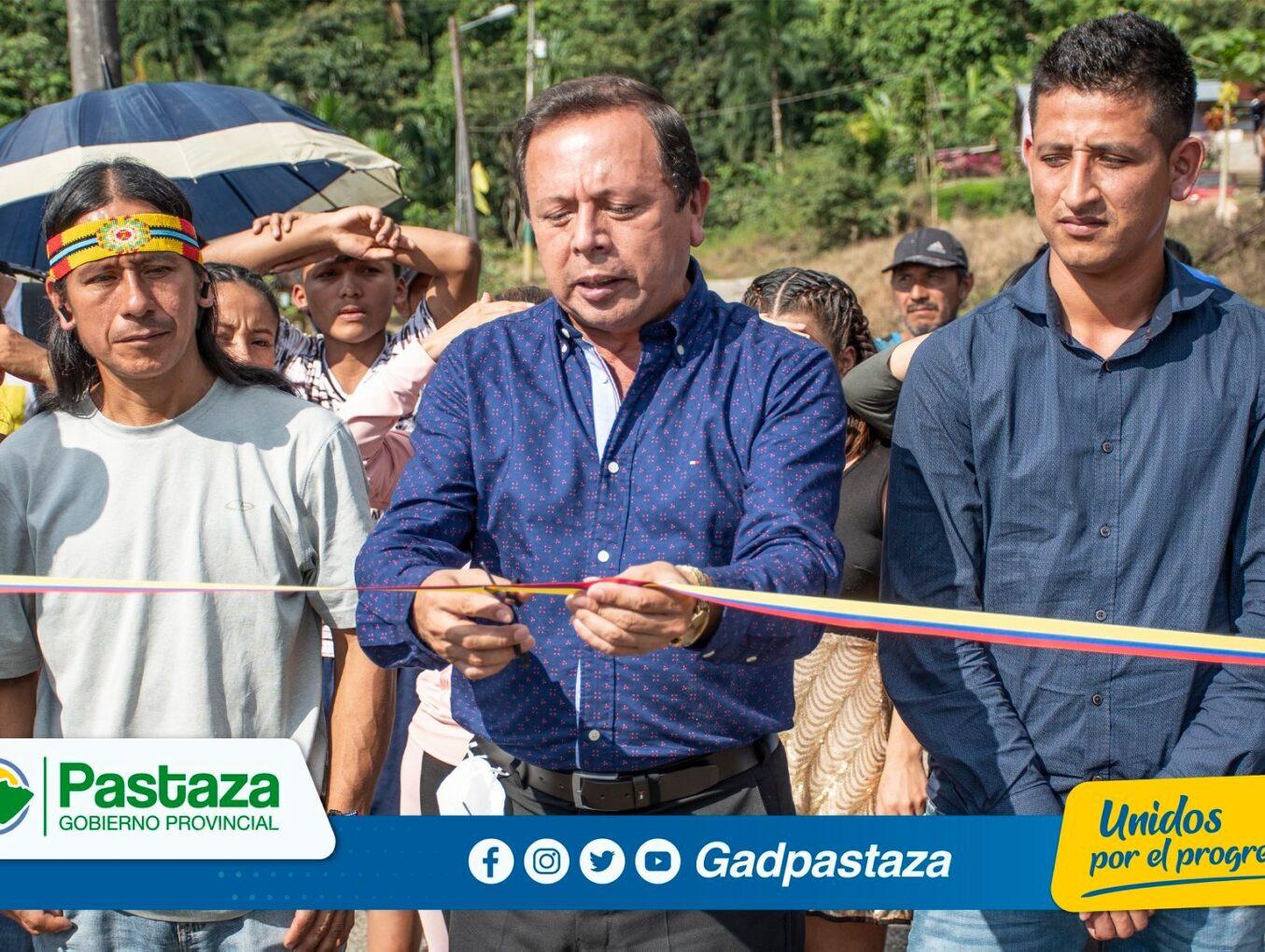 ¡Concluyeron trabajos de apertura de calles en la comunidad Los Arbolitos!