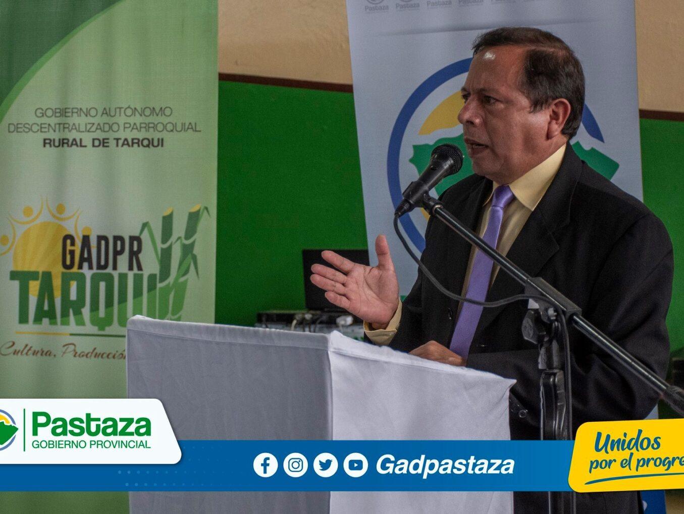 ¡Prefecto de Pastaza participó en la Sesión Solemne por los 66 años de Parroquialización!