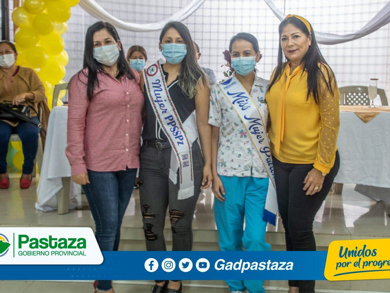 Las mujeres del sector rural fueron agasajadas por la Prefectura de Pastaza