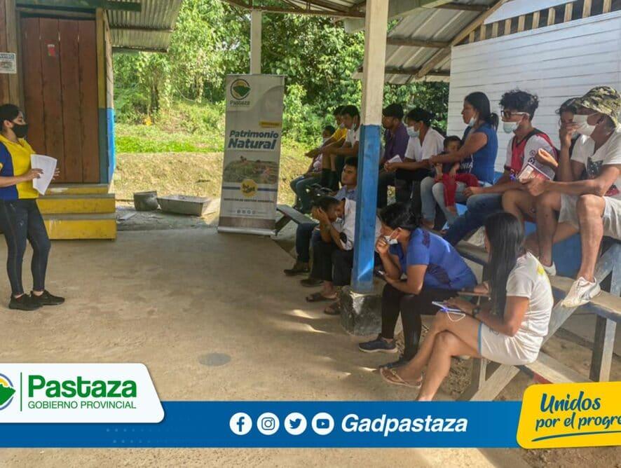 ¡Ciclo de Capacitación sobre el manejo del bambú se realizó en Arajuno!