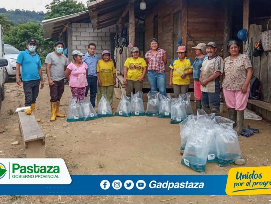 ¡Fortalecemos la producción de tilapia en San Pablo del Talín, con la entrega de alevines!