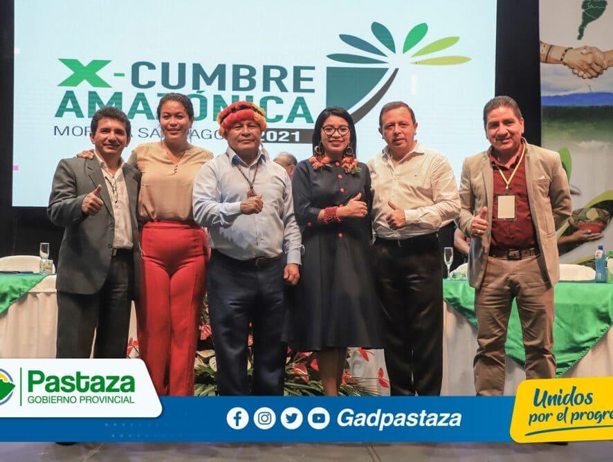 ¡X Cumbre Amazónica organizada por el CONGA, culminó con la firma de Resoluciones!