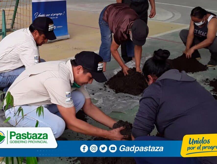 ¡Ciclo de Capacitación sobre el manejo del bambú se realizó en Madre Tierra y Fátima!