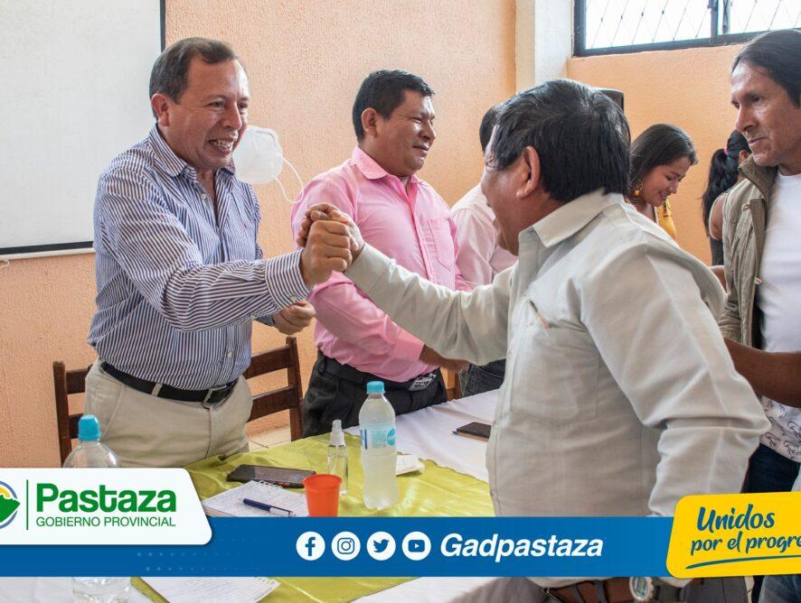 ¡Prefecto, Jaime Guevara mantuvo una reunión de trabajo en Simón Bolívar!