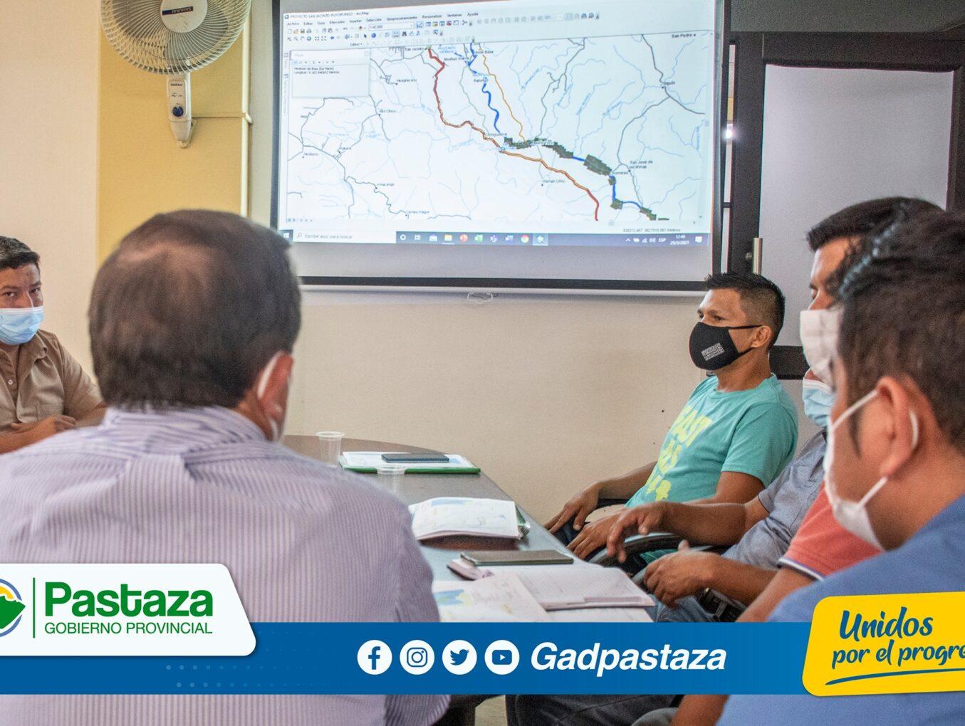 ¡Proyecto vial San Jacinto-Puyopungo fue socializado con dirigentes de la Comuna San Jacinto!