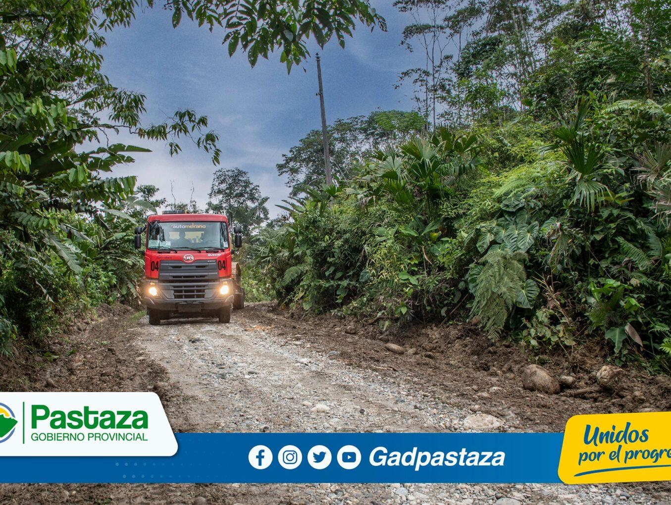 ¡Relastramos  4 kilómetros en la comunidad Simón Bolívar!