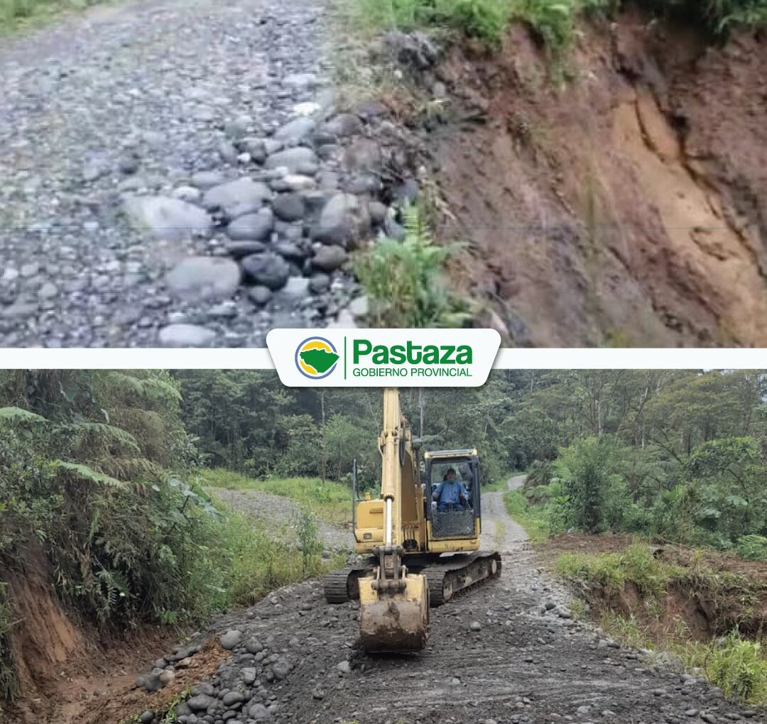 ¡Habilitamos la vía El Rosal-Pucayaku en la parroquia Fátima!