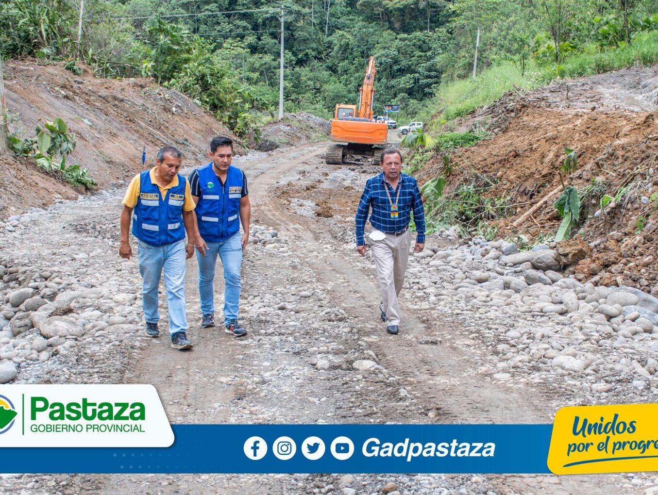¡A buen ritmo avanzan los trabajos de asfaltado de la vía a Ilipi!