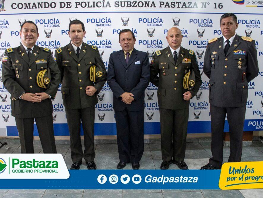 ¡Prefecto participó de Ceremonia de cambio de mando en el Comando de Policía!