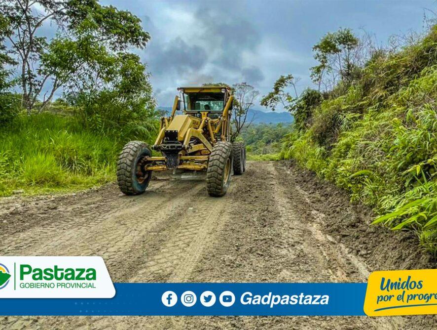 ¡Continuamos con el mantenimiento  vial en toda la provincia!