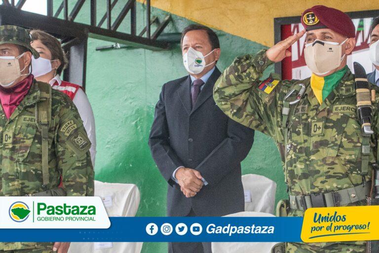 ¡Prefecto participó en Ceremonia Militar por los 41 años de la Escuela Iwia!