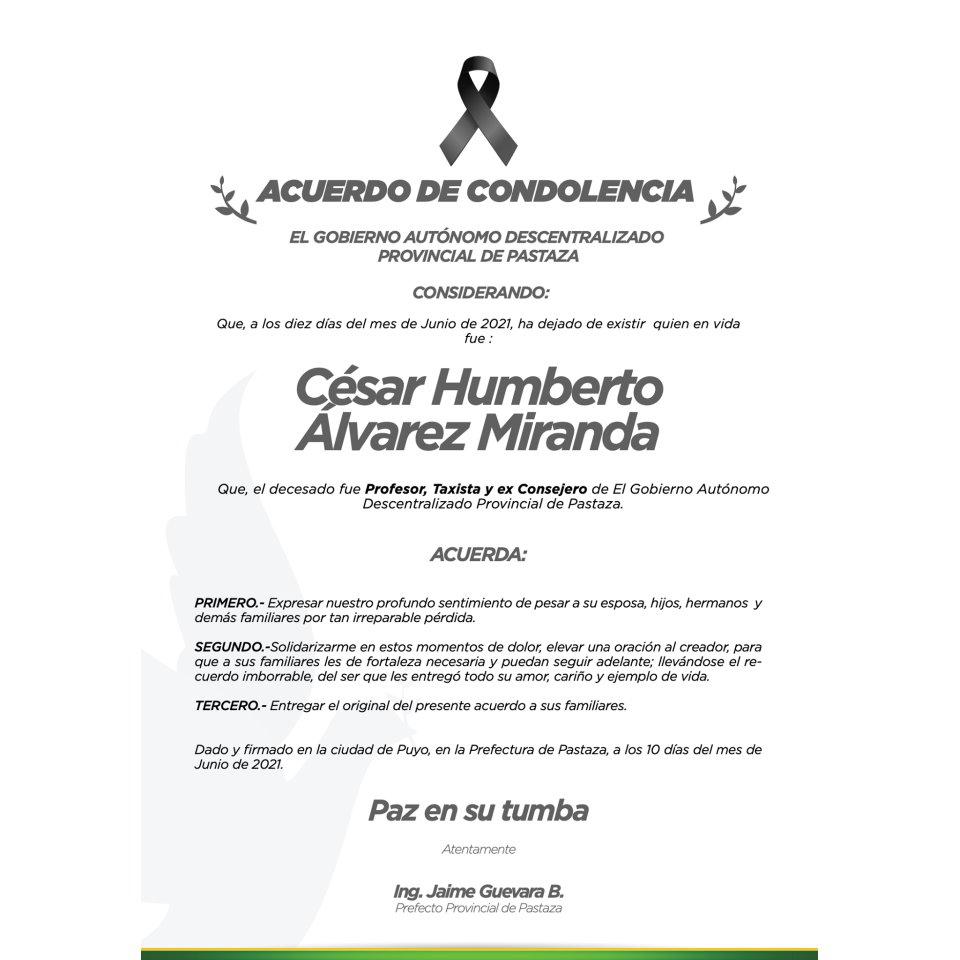 GAD Provincial de Pastaza