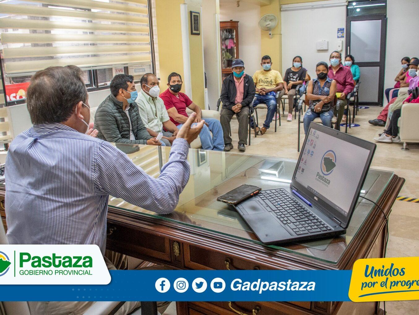 Prefecto recibió a comisión de Cajabamba 1, Cajabamba 2 y Jatun Vinillo