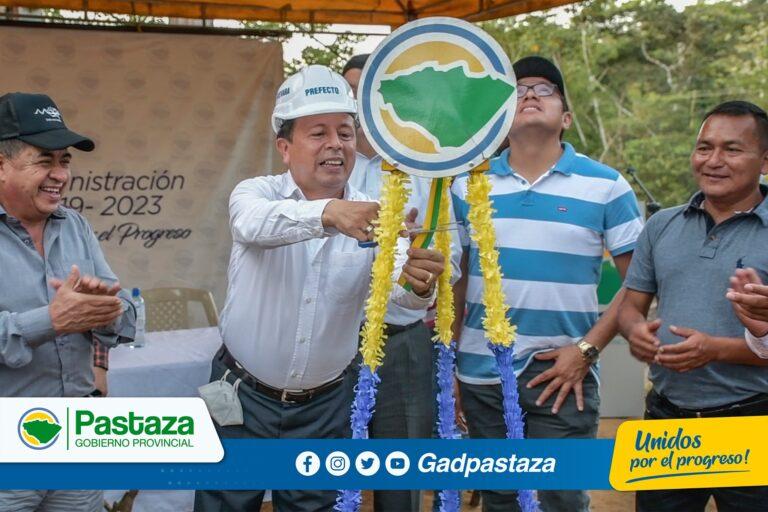 ¡Construimos puentes que unen pueblos e impulsan el desarrollo de Pastaza!