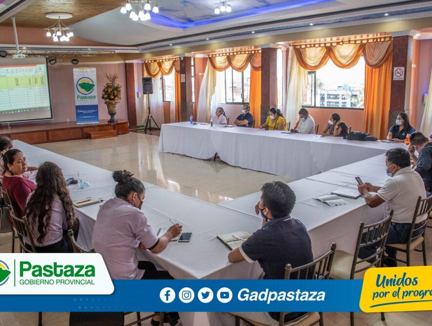 Mesa de Turismo trabaja en el POA 2022