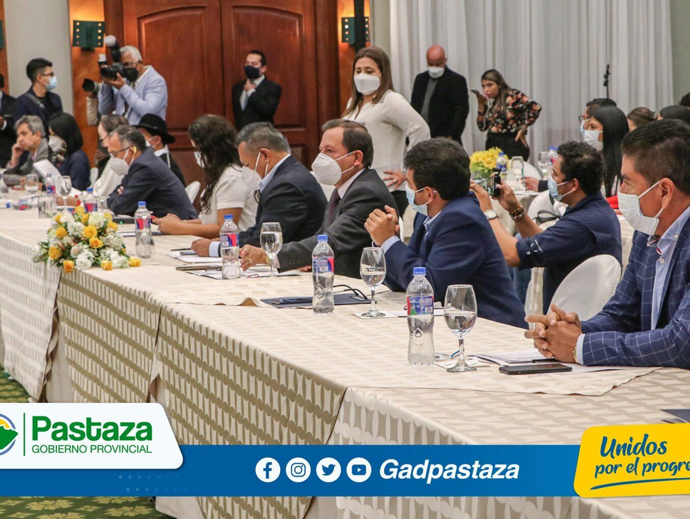 ¡Prefecto de Pastaza forma parte del Directorio del CONGOPE!