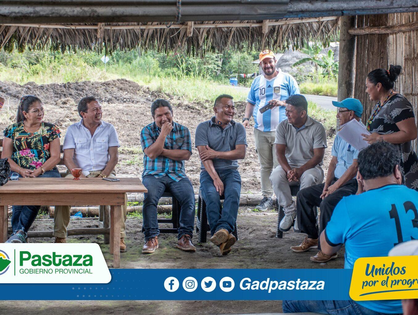 ¡Prefecto visitó la comunidad de Chaguamanga para dialogar con sus habitantes!