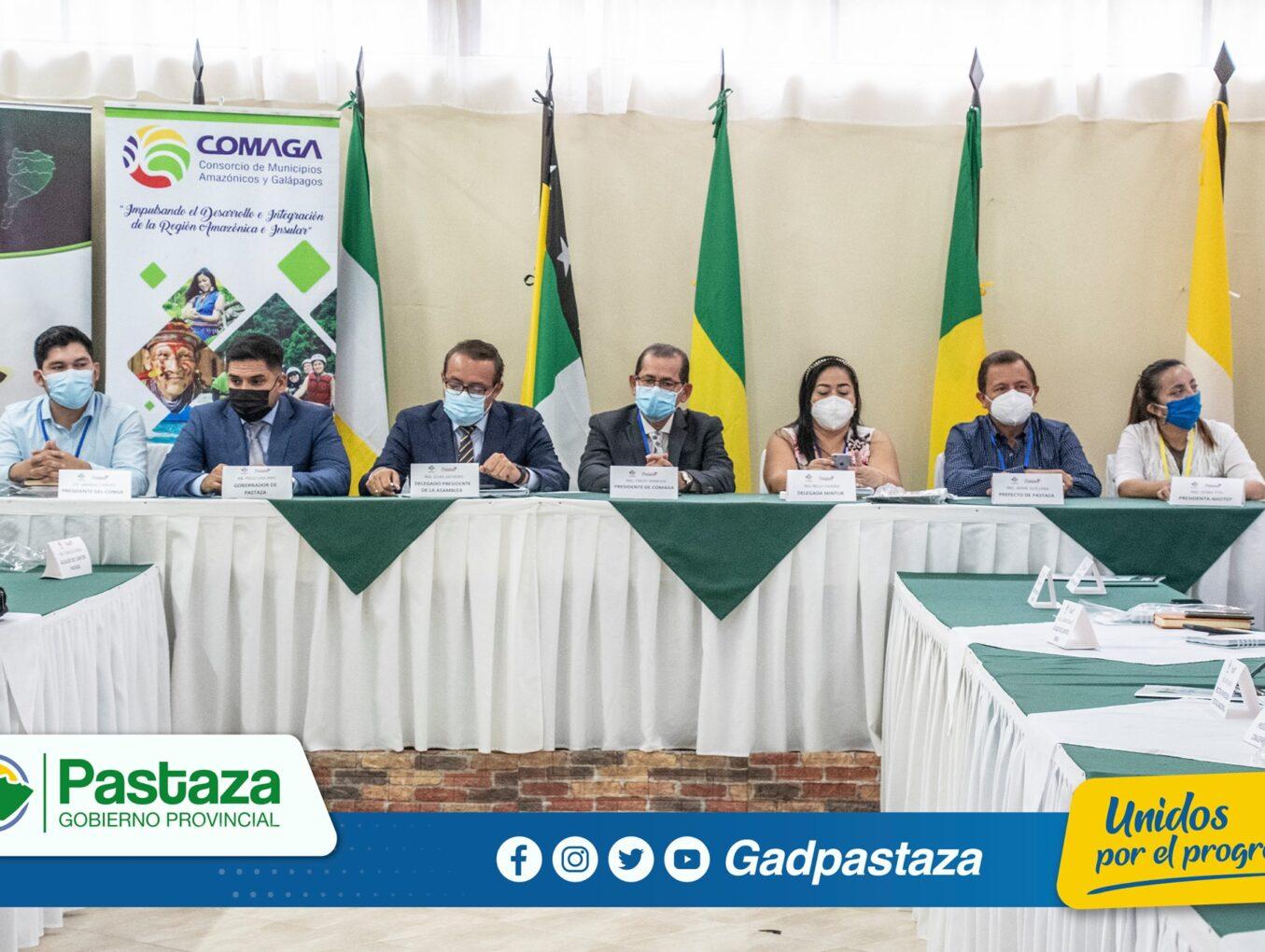 ¡Prefecto participa de la I Cumbre Amazónica en Pastaza!