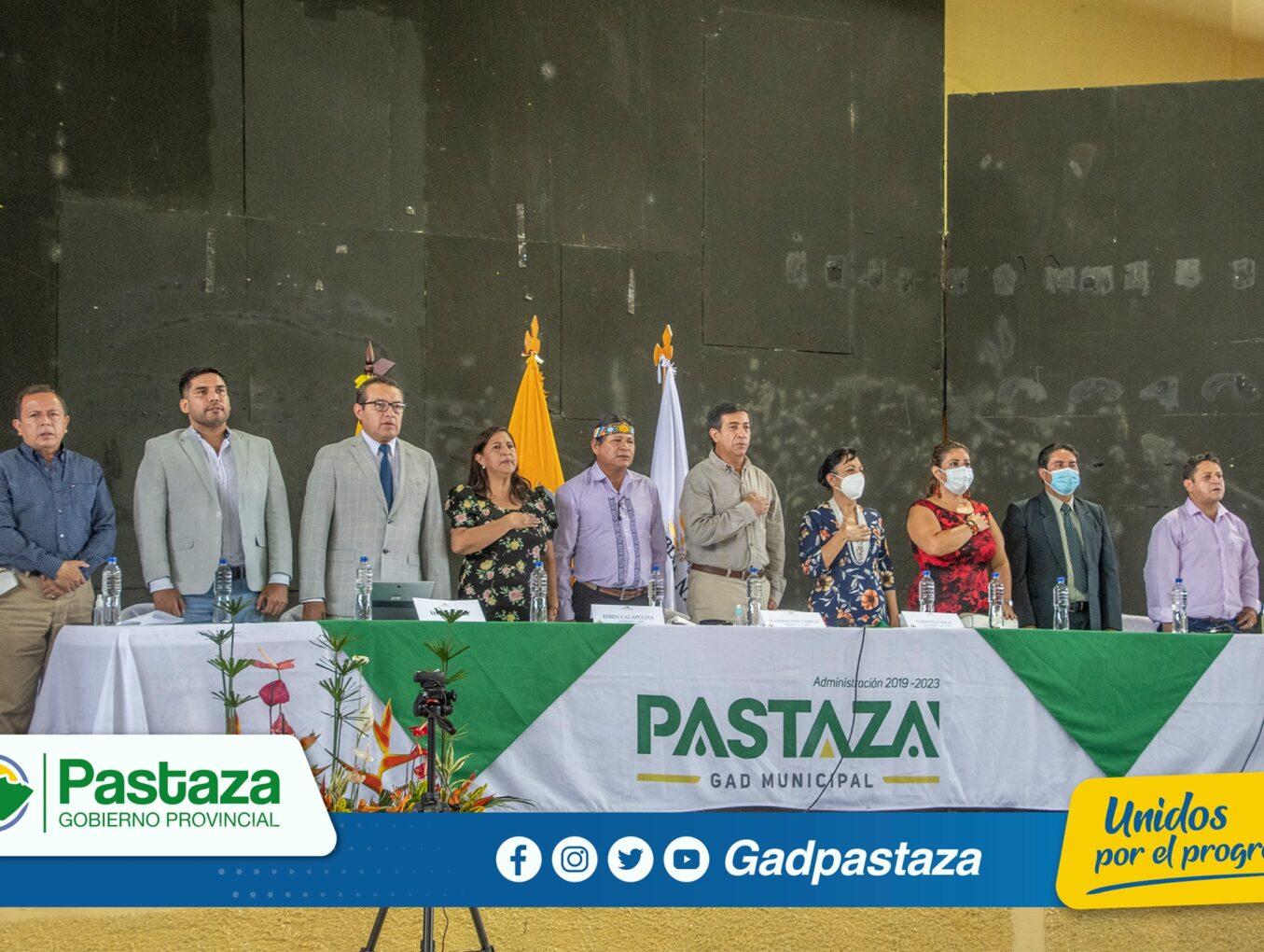 ¡Comisión de la Biodiversidad sesionó en la provincia de Pastaza!